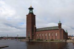 sweden stockholm columned korridor hungary för byggnadsstad Fotografering för Bildbyråer