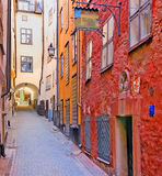 Sweden. Stockholm. Gamla Stan Royalty Free Stock Images