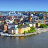 Sweden - Stockholm Royalty Free Stock Photography