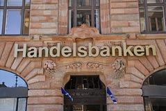 SWEDEN SVERIGE HANDELSBANKEN. MALM�/MALMO/SWEDEN/SVERIGE- Female cashing money at ATM at Swedish Handelsbanken         13 Marchi 2014  (Photo by Francis  Dean/ Stock Photo