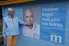 SWEDEN_SWEDES ELECTIONS Royalty Free Stock Image