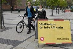 SWEDEN_SWEDES-VAL Fotografering för Bildbyråer
