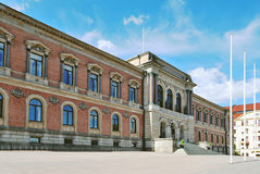 sweden uniwersytet Uppsala fotografia royalty free