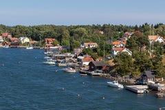 Sweden village at. royalty free stock image