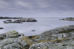 Sweden westcoast one little island outside Gothenburg. The name is Fot Stock Photography