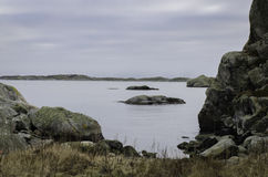 Sweden westcoast one little island outside Gothenburg. The name is Foto Royalty Free Stock Photography