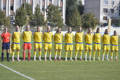 Sweden womens national football team Royalty Free Stock Images