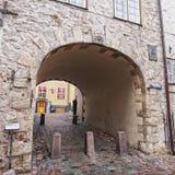 Swedens Gate Riga Stock Image