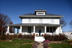 Swedesburg House Stock Images