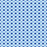 Swedisch blue pattern Stock Images