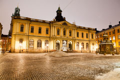 The Swedish Academy. Also Nobel Museum and Nobel Library royalty free stock photography