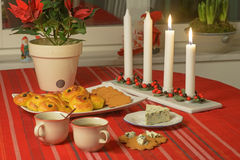 Swedish advent celebration Royalty Free Stock Images