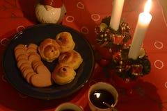 Swedish advent celebration Royalty Free Stock Image