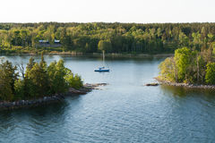 Swedish archipelago Royalty Free Stock Photography