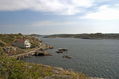 Swedish archipelago coast Royalty Free Stock Photo