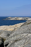 Swedish archipelago coast Stock Photography
