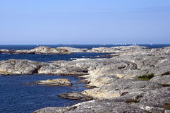 Swedish archipelago coast Royalty Free Stock Photos
