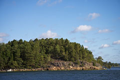 Swedish archipelago royalty free stock photos