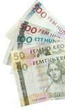Swedish Banknotes (Kroner) Royalty Free Stock Photo