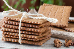 Swedish Biscuits Closeup Stock Photography