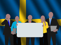 Swedish business team Stock Photography