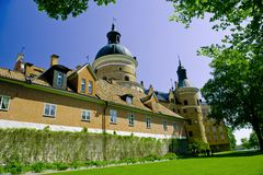 Swedish castle Royalty Free Stock Photography