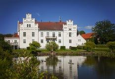 Swedish castle of Wanas Royalty Free Stock Photo
