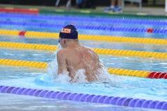 Swedish championship in swimming Stock Photo