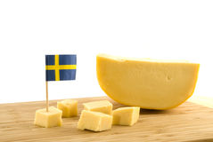 Swedish cheese Royalty Free Stock Photo
