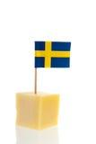 Swedish cheese Stock Image