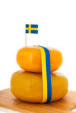 Swedish cheese Royalty Free Stock Image