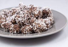 Swedish Chocolate Balls Royalty Free Stock Photos