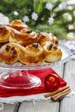 Swedish christmas. Traditional swedish buns Royalty Free Stock Photos