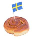 Swedish cinnamon bun Stock Image