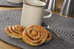 Swedish cinnamon rolls Royalty Free Stock Image