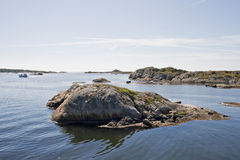 Swedish coast stock photography