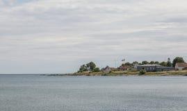Swedish Coast Line Royalty Free Stock Photo