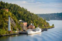The Swedish Coastline Royalty Free Stock Photography