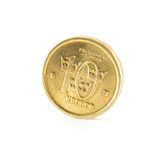 Swedish coin ten crowns Royalty Free Stock Photo