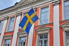 Swedish consulate building Stock Photography