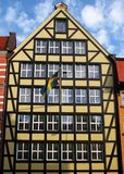 Swedish Consulate in Gdansk. Royalty Free Stock Photo