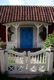 Swedish cottage. Typical swedish cottage seen at Sandhamn island in Stockholm archipelago Royalty Free Stock Image