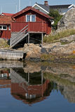 Swedish cottage Stock Photography