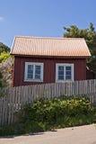 Swedish cottage Royalty Free Stock Images