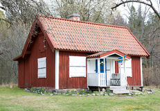 Swedish cottage Royalty Free Stock Photo