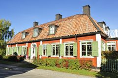 Swedish country house Stock Images