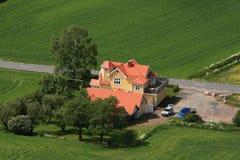 Swedish countryside Stock Photo