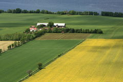 Swedish countryside Royalty Free Stock Photography