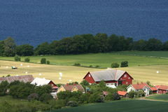 Swedish countryside Royalty Free Stock Images