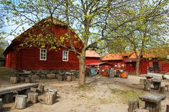 Swedish countryside Royalty Free Stock Image